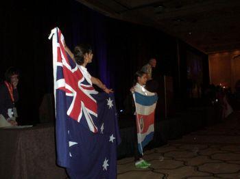 オーストラリアとコスタリカ